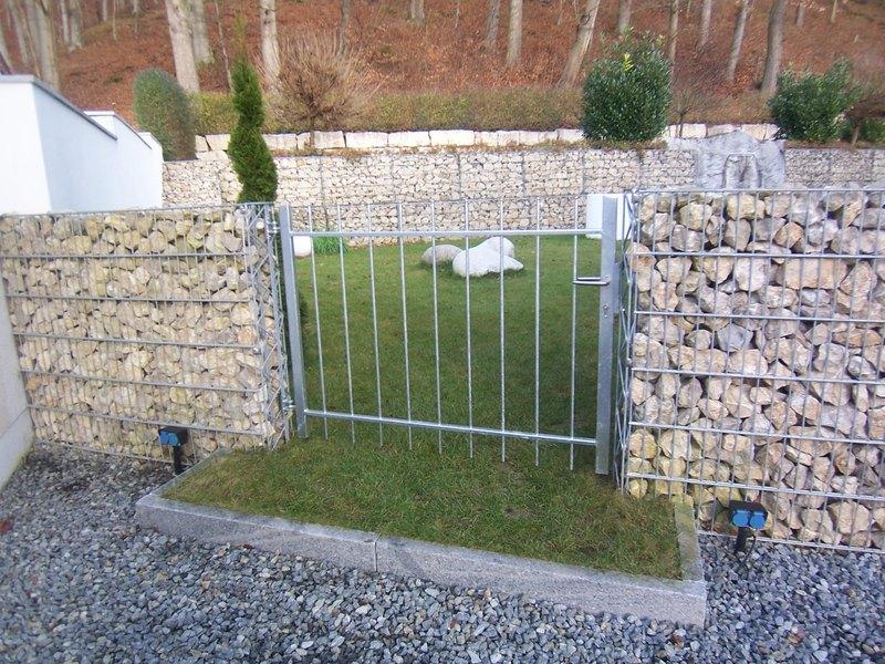 Steink rbe gabionen m der steine - Gartentor selbstbau ...